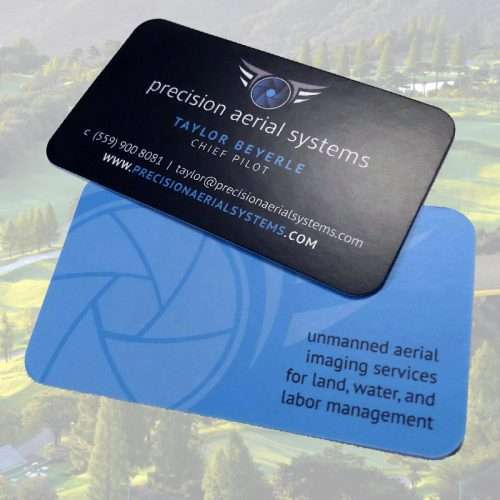 Drone Company Business Card Design